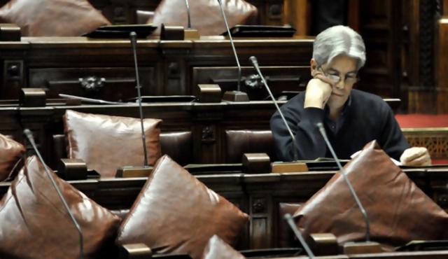 Puig votó en contra de mantener tropas en Haití y renunció