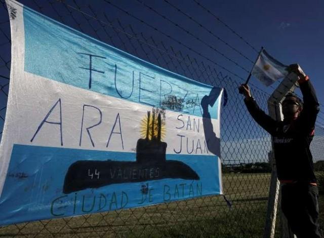 Portal 180 - Hallan submarino argentino desaparecido hace un año