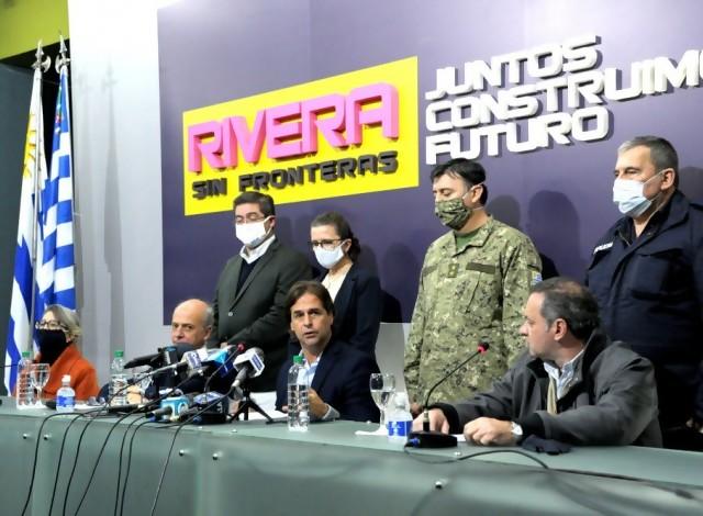 Portal 180 - Gobierno refuerza medidas sanitarias en Rivera