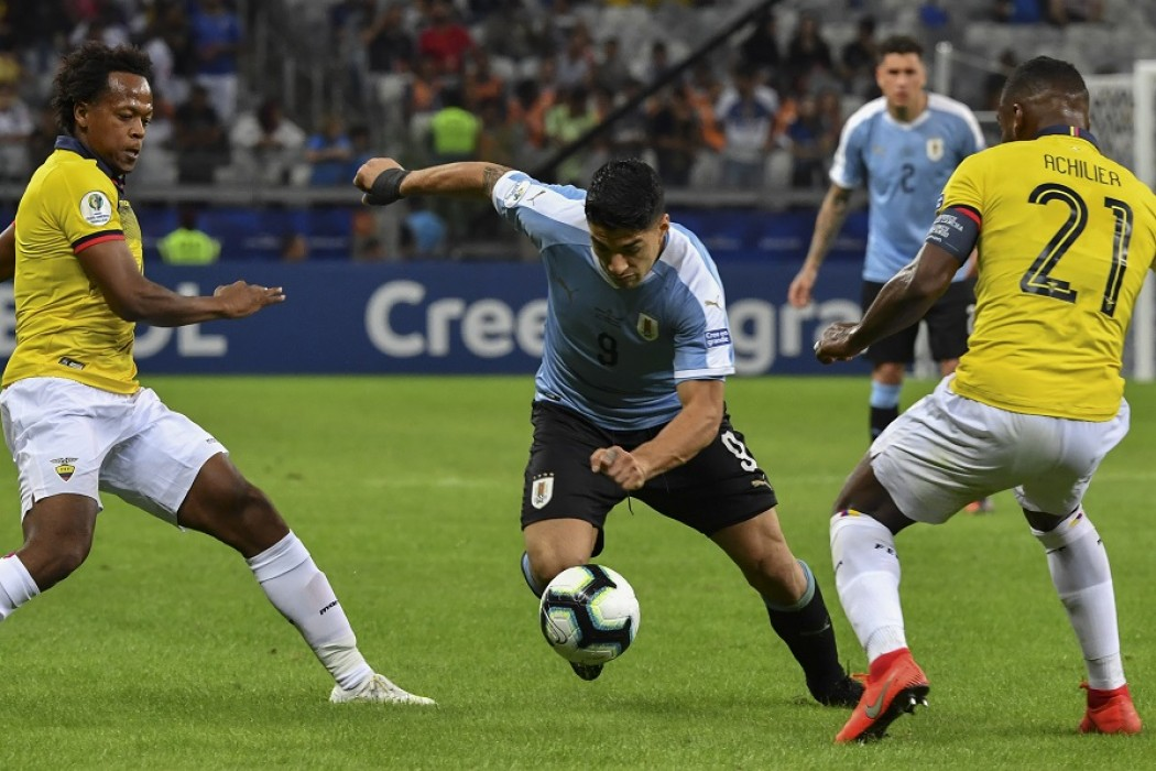 El triunfo de Uruguay ante los bolivianos con cuerpos de deportistas — Sol | Del Sol 99.5 en el la Copa América 2019