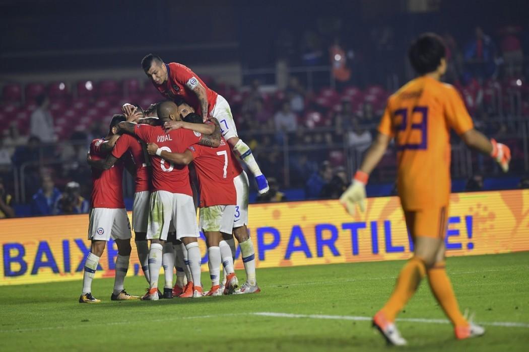 Chile 4 – 0 Japón — Sol | Del Sol 99.5 en el la Copa América 2019