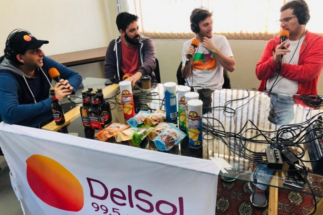 La Mesa desde Pelotas — Sol   Del Sol 99.5 en el la Copa América 2019