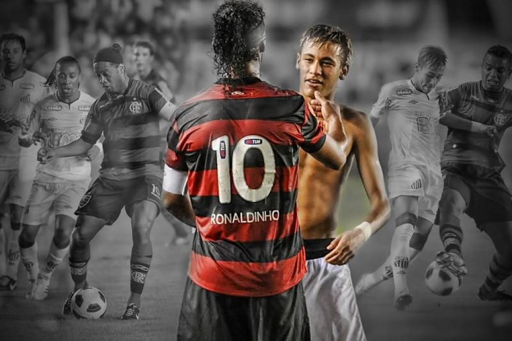 Fútbol y arte: Ronaldinho y Neymar — DelSol | Del Sol 99.5 en el la Copa América 2019