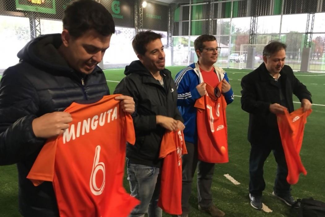 El reparto de camisetas para DelSolEnRusia — Img | Del Sol 99.5 en el Mundial Rusia 2018