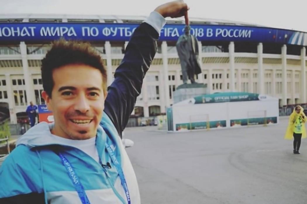 Contacto con Rafa desde Rusia — Sol | Del Sol 99.5 en el Mundial Rusia 2018