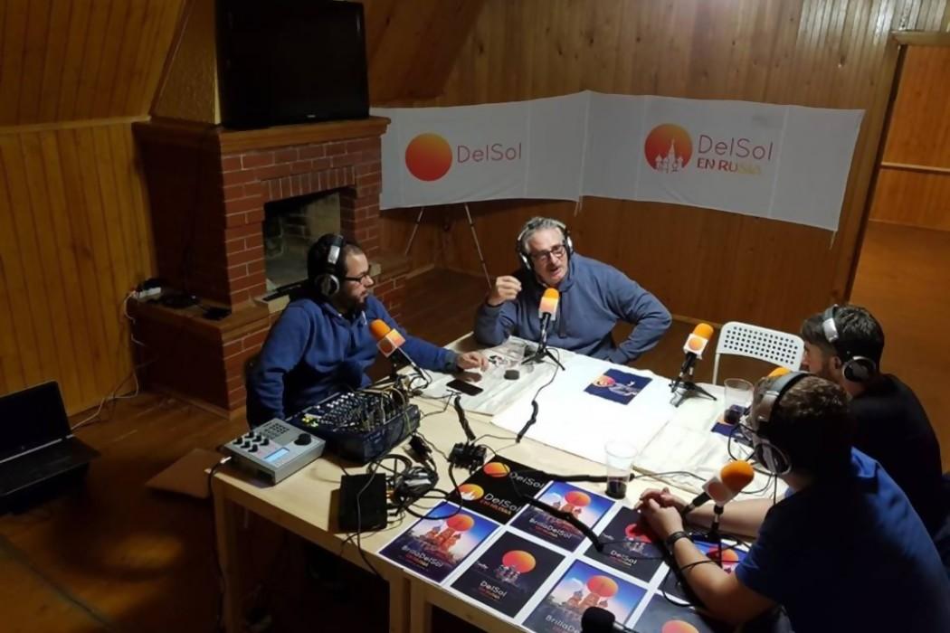 El Profe y Gonza llegaron a Rusia  — Sol | Del Sol 99.5 en el Mundial Rusia 2018