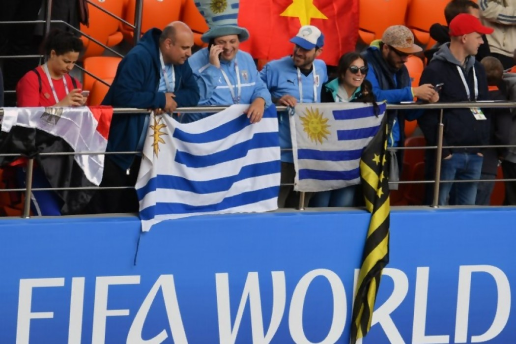Darwin exigió respeto al Mundial en la previa de Uruguay-Egipto — Sol | Del Sol 99.5 en el Mundial Rusia 2018