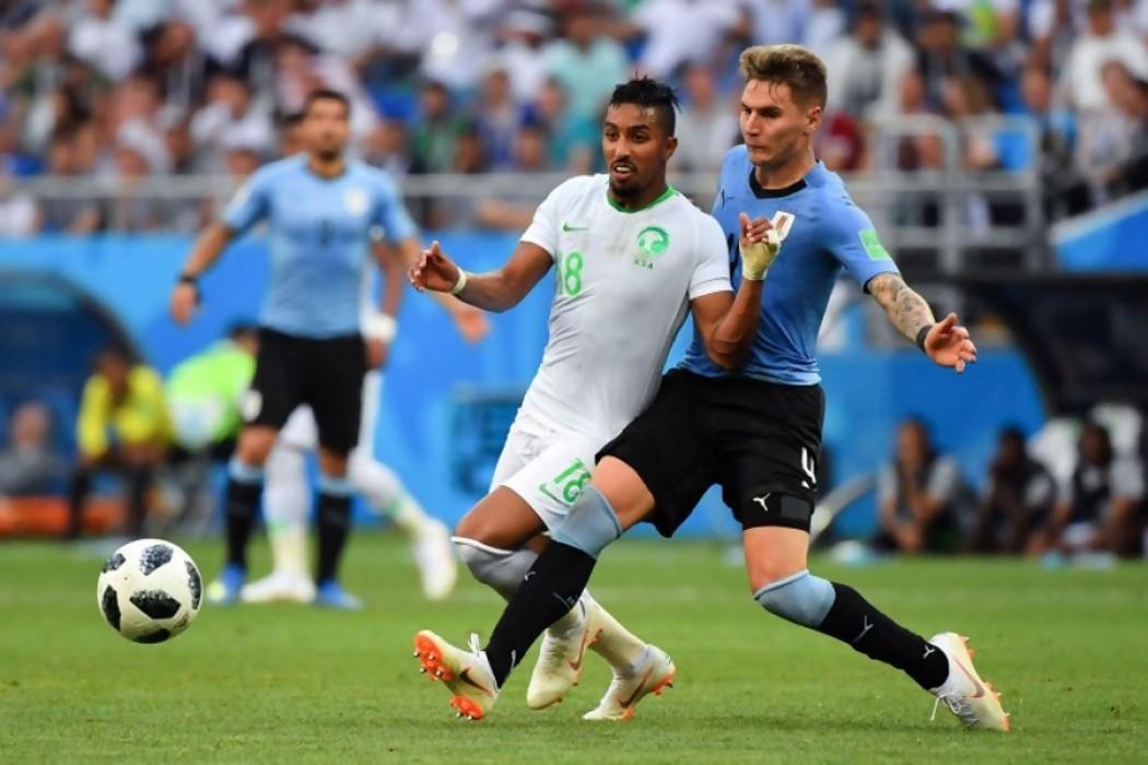 Uruguay 1 - 0 Arabia Saudita  — Audios   Del Sol 99.5 en el Mundial Rusia 2018