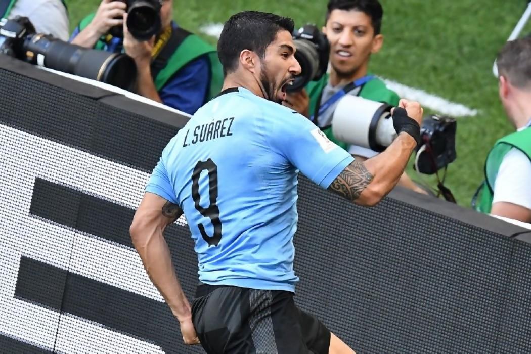 El gol de Suárez en el relato de Álvaro González Márquez — Videos | Del Sol 99.5 en el Mundial Rusia 2018