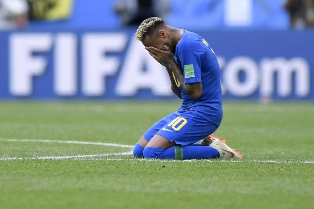 Neymar llora tras la victoria ante Costa Rica — Foto del dia | Del Sol 99.5 en el Mundial Rusia 2018