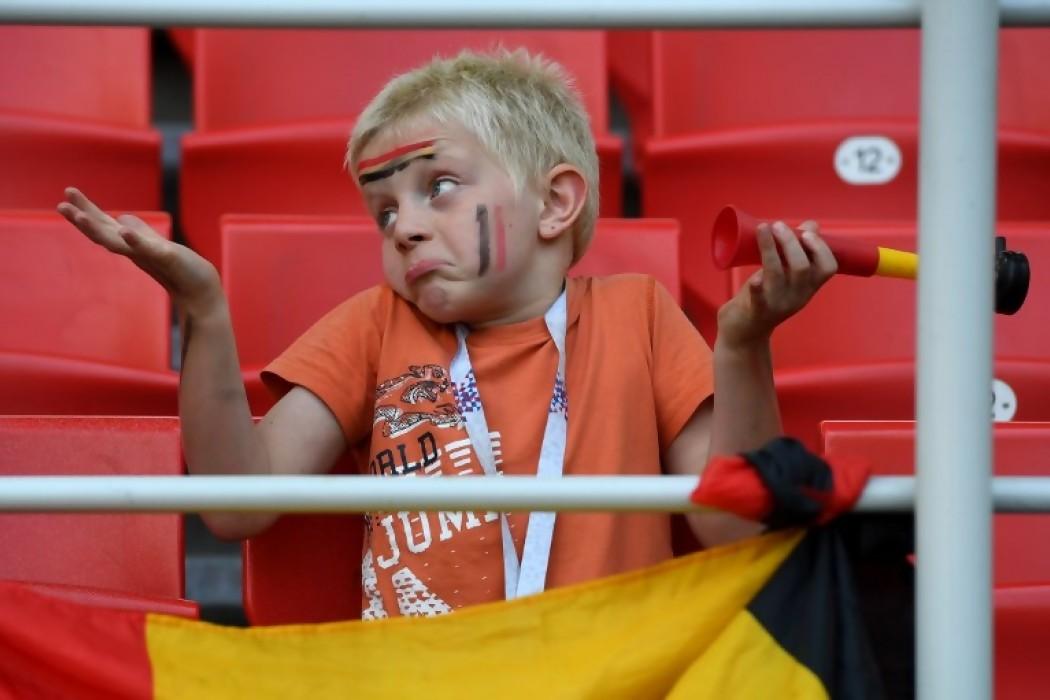 Bélgica golea y es candidata — Foto del dia | Del Sol 99.5 en el Mundial Rusia 2018