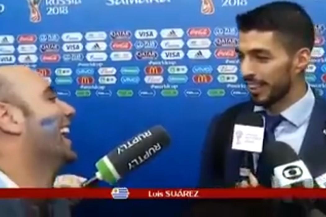 A pedido de Luis Suárez, Iñaki Abadie se queda en Rusia — Videos | Del Sol 99.5 en el Mundial Rusia 2018