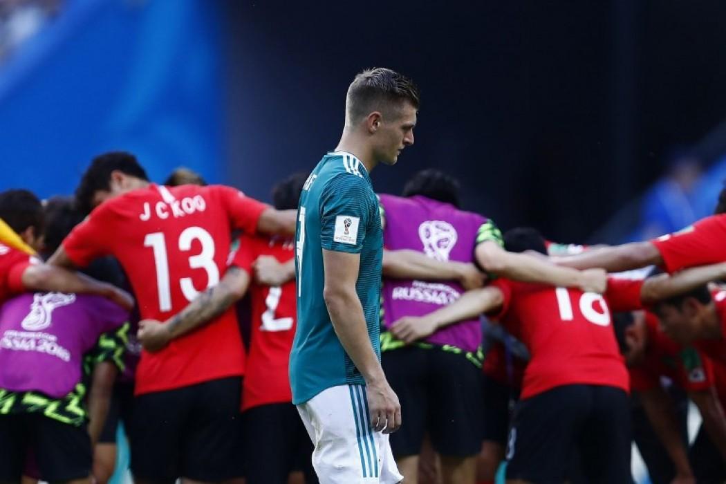 Desazón de Toni Kroos y alegría coreana — Img | Del Sol 99.5 en el Mundial Rusia 2018