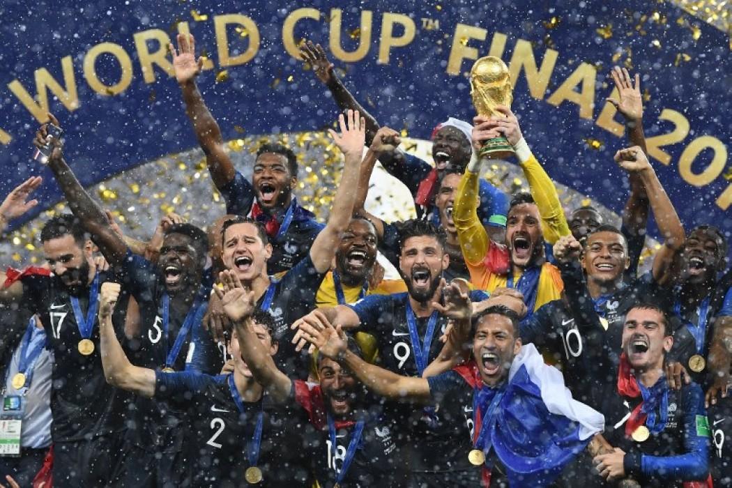 Francia campeón del mundo — Foto del dia | Del Sol 99.5 en el Mundial Rusia 2018