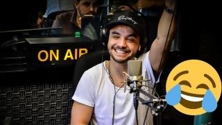 Agustín Casanova de Márama se probó como cerrajero - Promos - DelSol 99.5 FM