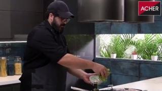 180gourmet: corvina rubia con trigo bulgur y verduras al wok - 180 - DelSol 99.5 FM