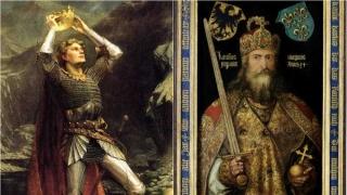 "Rey Arturo vs Carlomagno + serie: ""La reina blanca"" - Random - DelSol 99.5 FM"