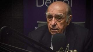 """Sanguinetti: a """"la institución militar la enfrenté cuando muchos callaban"""" - Entrevista central - DelSol 99.5 FM"""