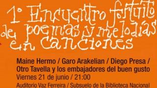 1er Encuentro Fortuito de Poemas y Melodías en Canciones - Audios - DelSol 99.5 FM