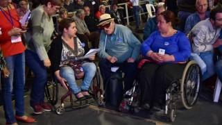 """""""A nadie se le ocurre que las personas con discapacidad tenemos derecho a votar"""" - Entrevistas - DelSol 99.5 FM"""