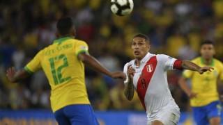 Brasil 3 - 1 Perú