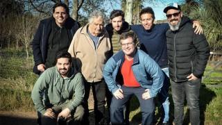 La charla de Pepe Mujica con los galanes - La Entrevista - DelSol 99.5 FM
