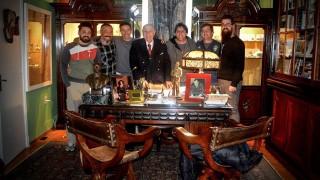 La charla de Julio María Sanguinetti con los galanes - La Entrevista - DelSol 99.5 FM
