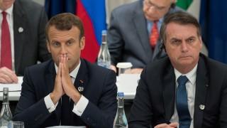 Darwin y el enfrentamiento Macron Bolsonaro - Columna de Darwin - DelSol 99.5 FM