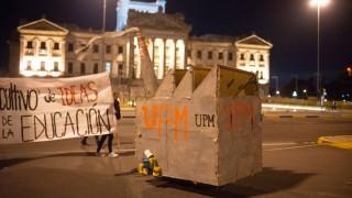 La manifestación contra UPM2 - Titulares y suplentes - DelSol 99.5 FM