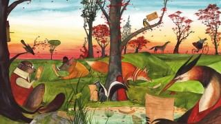 Libros con cartas e historias de los oyentes - Virginia Mortola - DelSol 99.5 FM