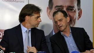 Lacalle Pou acordó apoyo de Manini con diferencias sobre cambios en el CPP - Departamento de periodismo electoral - DelSol 99.5 FM