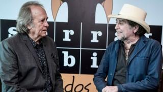 """Serrat y Sabina con su defensa del """"amor por las palabras"""" - Audios - DelSol 99.5 FM"""
