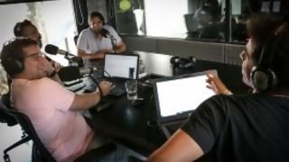 Jorge Carlos pidió una ensalada y desató una charla sobre veganismo - La Charla - DelSol 99.5 FM