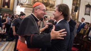 """""""Es ahora"""" como parte de la bendición religiosa al gobierno - Informes - DelSol 99.5 FM"""