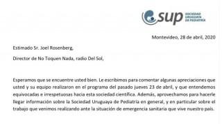 Respuesta del programa a una carta pública de la SUP - Departamento de Periodismo de Opinión - DelSol 99.5 FM