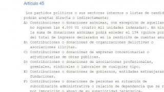 Siga siga: la Corte Electoral no investigará a CA por violación a ley de financiamiento - Informes - DelSol 99.5 FM