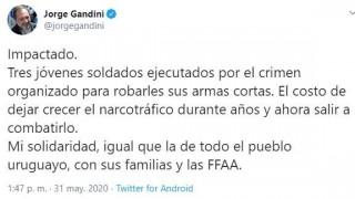El asesinato de los marinos y las hipótesis en caliente de los políticos - Departamento de Periodismo de Opinión - DelSol 99.5 FM