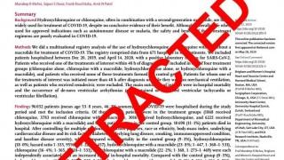 """De las promesas terapéuticas al """"Lancetgate"""": ¿al final sirve la hidroxicloroquina para el covid? - Gianfranco Grompone - DelSol 99.5 FM"""