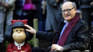 """La vida de Quino, su ambivalencia con Mafalda y su objetivo de """"hacer pensar a la gente"""" - In Memoriam - DelSol 99.5 FM"""