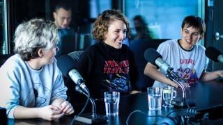 """Niña Lobo tocó y se """"peleó"""" en vivo - Entrevistas - DelSol 99.5 FM"""