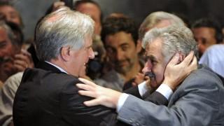 Mujica recordó en un minuto la figura de Tabaré Vázquez - MinutoNTN - DelSol 99.5 FM