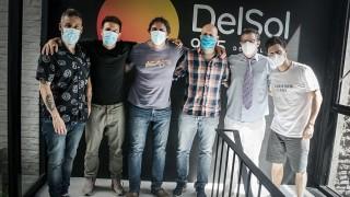 La Mesa recibió la visita de Mariano López - Audios - DelSol 99.5 FM