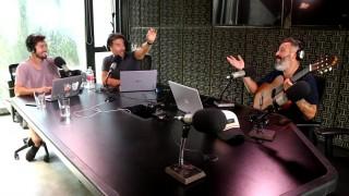 Diego González demostró su habilidad con la guitarra - Bombitas amarillas - DelSol 99.5 FM