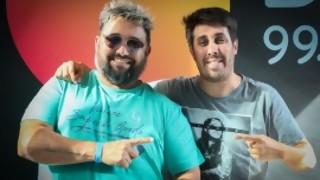 """Una batalla de """"Locos"""" - DJ vs DJ - DelSol 99.5 FM"""