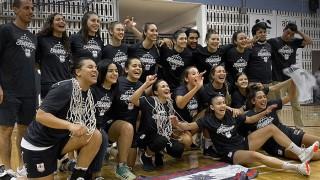 Campeonas: Defensor Sporting femenino dio el batacazo en el básquetbol  - Alerta naranja: basket - DelSol 99.5 FM