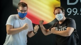 DJ Chupín vs DJ Deldelentes: un duelo terrible - DJ vs DJ - DelSol 99.5 FM