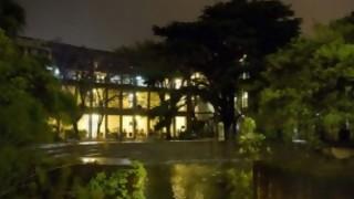Las noches en la facultad de Arquitectura