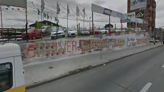 ¿Cuántas capas de pintura tiene el muro de Av. Italia y Propios? - Sobremesa - DelSol 99.5 FM