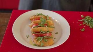 En la cocina de Martín Schwedt: milanesas de queso de búfala - Gourmet - DelSol 99.5 FM