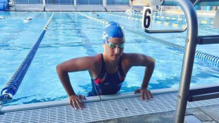Micaela Sierra, la promesa uruguaya que empezó a nadar obligada - Entretiempo - DelSol 99.5 FM